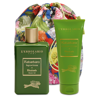Beauty Bag Duo- Rabarbaro L'Erbolario