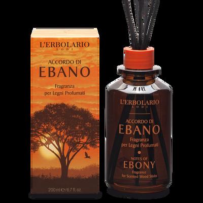 Fragranza per legni profumati Accordo di Ebano
