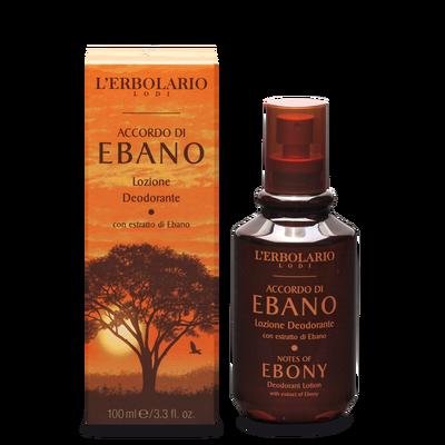 Lozione deodorante: Accordo di Ebano