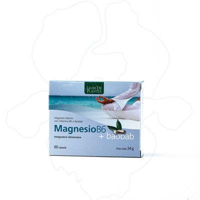 Magnesio B6 + Baobab integratore alimentare