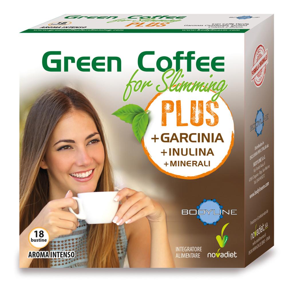 Caffe verde, garcinia cambogia, inulina e minerali. Un caffè solubile dall'aroma intenso e gradevole. Contribuisce alla perdita di peso.