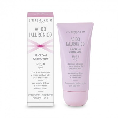 BB Cream crema viso - SPF 15 Trattamento uniformante anti-age 50 ml