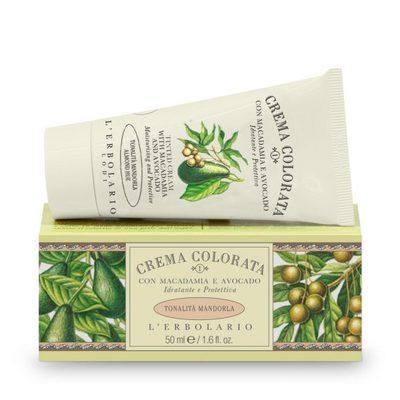 Crema colorata con Macadamia e Avocado tonalità Mandorla  50 ml