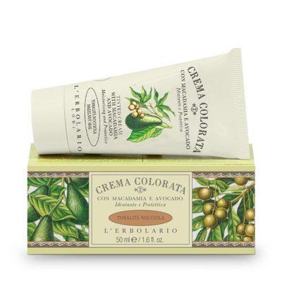 Crema colorata con Macadamia e Avocado tonalità Nocciola  50 ml