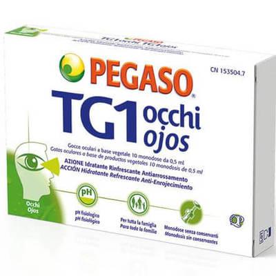 Tg1 occhi 10 monodose Pegaso