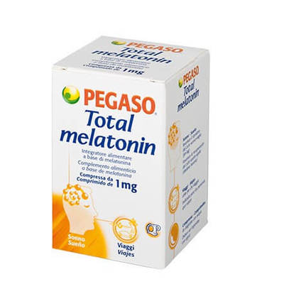 Total Melatonin 180 compresse Pegaso
