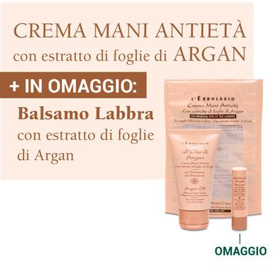 Crema mani antietà + Balsamo Labbra