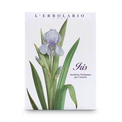 4 Sacchetti Profumati per Cassetti Iris l'Erbolario