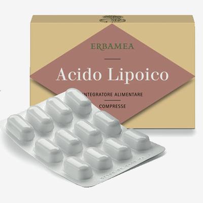 Acido Lipoico  compresse Erbamea