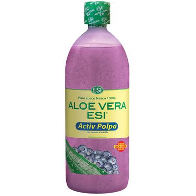 Aloe vera activ polpa mirtillo ESI 1000ml