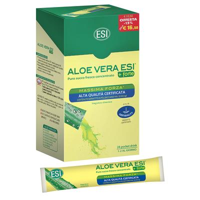Aloe vera  ESI 24 pocket drink
