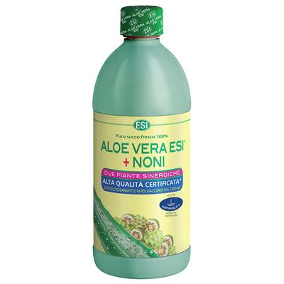 Aloe vera puro succo fresco 100% ESI + NONI
