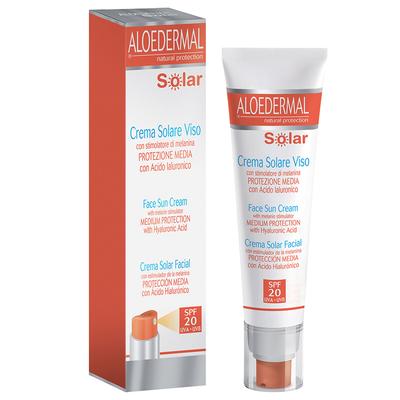 Aloedermal Solar crema solare viso SPF20