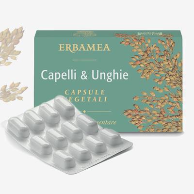 Capelli e Unghie capsule vegetali Erbamea