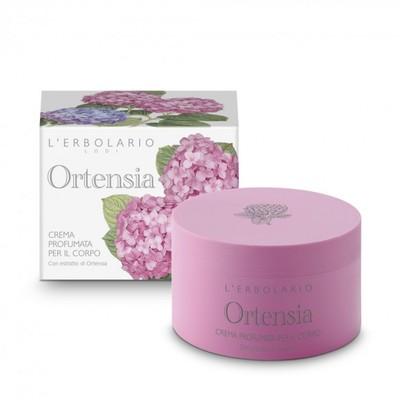 Crema profumata per il corpo Ortensia 200 ml