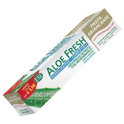 Dentifricio in gel Aloe fresh pasta sbiancante ESI