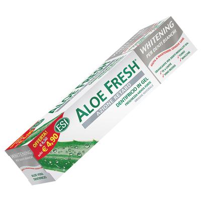 Dentifricio in gel Aloe fresh whitening ESI