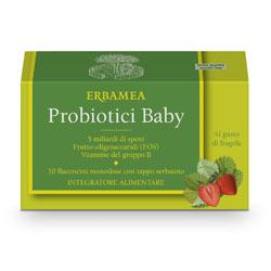 Probiotici 10 MLD flaconcini baby Erbamea