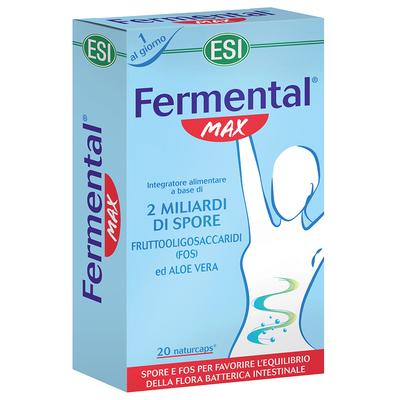 Fermental max 20 naturcaps ESI