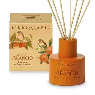 Fragranza per legni profumati Accordo Arancio 125 ml l'Erbolario