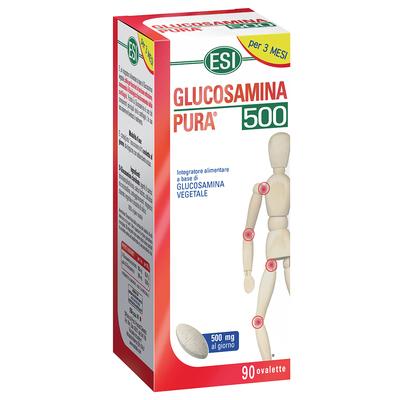Glucosamina pura 500mg al giorno ESI