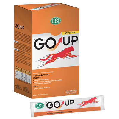 GoUp energy line integratore alimentare 16 pocket drink ESI