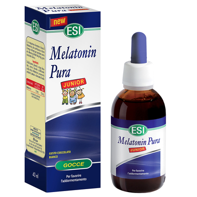 Melatonin Pura junior gocce 40 ml ESI