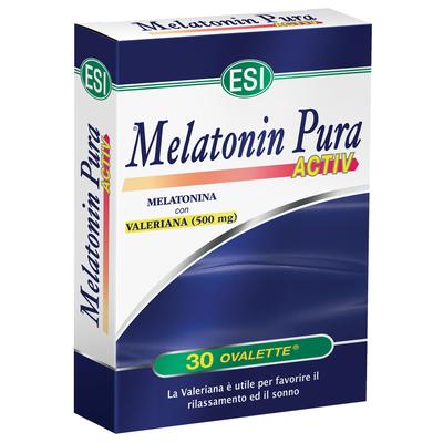 Melatonin Pura Activ con valeriana ESI