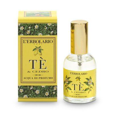Profumo Tè e Cedro 50 ml l'Erbolario