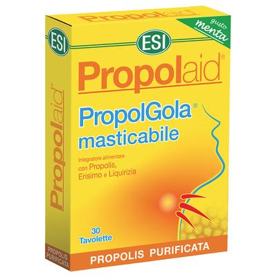 PropolGola masticabile Menta 30 tavolette masticabili