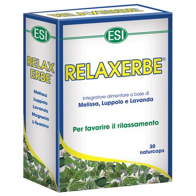 Relaxerbe Integratore per favorire il rilassamento 30 caps