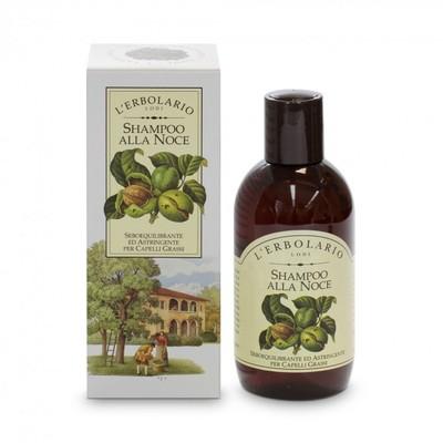 Shampoo alla noce 200 ml l'Erbolario