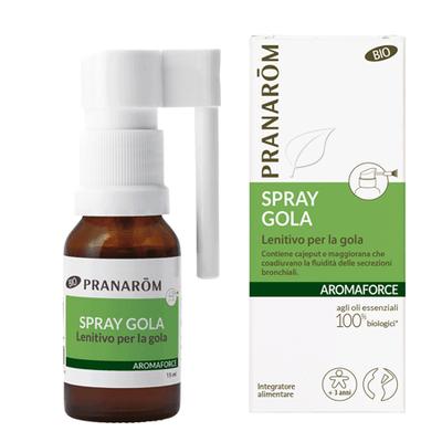 Spray gola con Eucalipto Pranarom