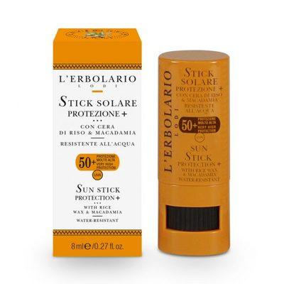 Stick solare Protezione + SPF 50+ 8 ml l'Erbolario