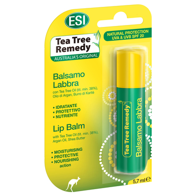 Balsamo labbra con tea tree oil 5,7 ml Esi
