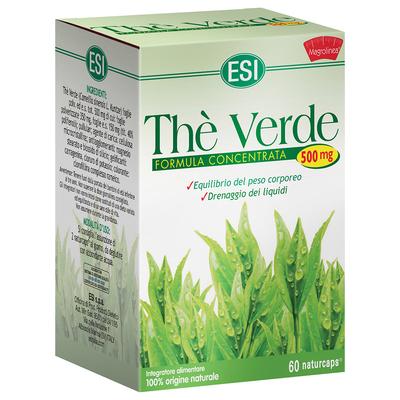 Thè verde formula concentrata 60 naturcaps