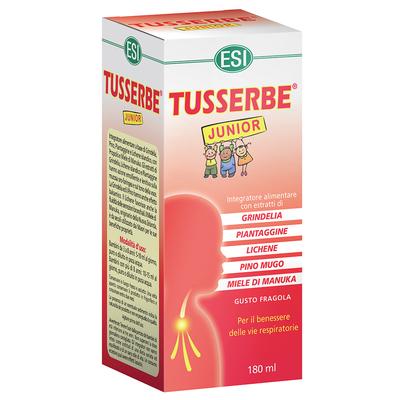 Tusserbe Junior integratore alimentare per il benessere delle vie respiratorie 180 ml