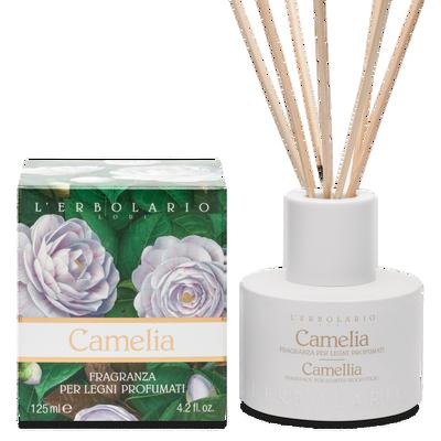 Camelia Fragranza per Legni profumati l'Erbolario 125 ml