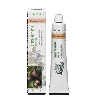 Crema nutriente per il viso Bioecocosmesi