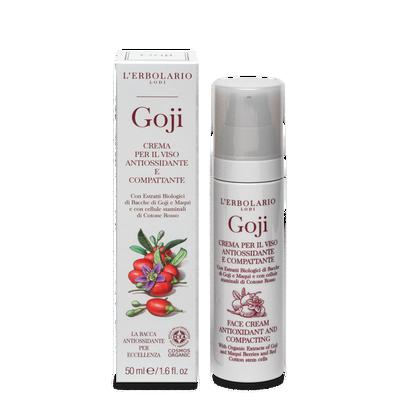 Crema Goji viso antiossidante compattante 50ml