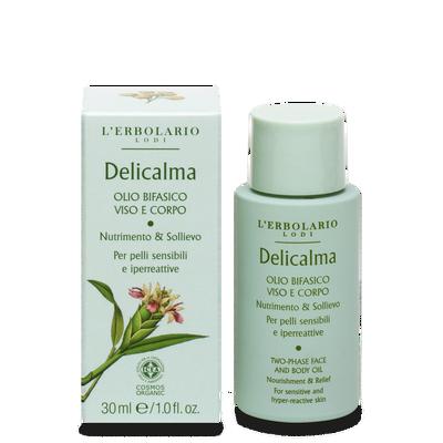 Delicarma olio bifasico viso e corpo 30 ml