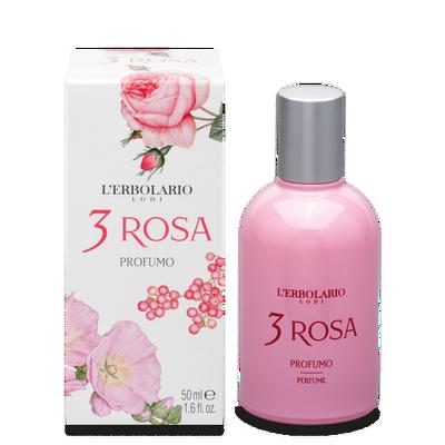 3 rosa profumo l'Erbolario 50 ml