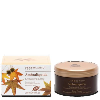 Ambraliquida: crema per il corpo l'Erbolario 250 ml