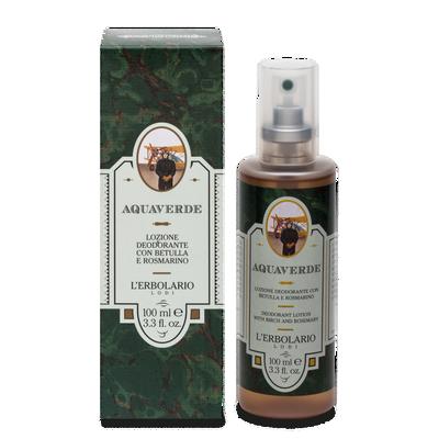 Aquaverde lozione deodorante l'Erbolario 100 ml