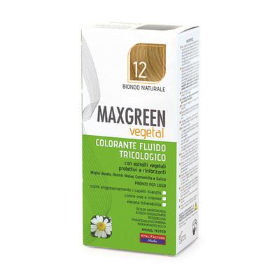 Colorante fluido tricologo Max Green Biondo 12