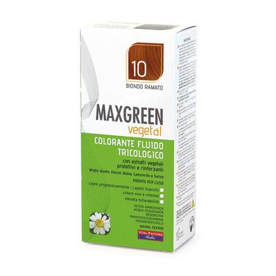 Colorante fluido tricologo Max Green Biondo Ramato 10