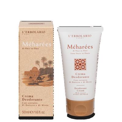 Crema deodorante Meharees 50 ml l'Erbolario
