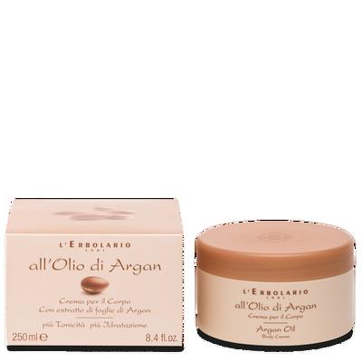Crema per il corpo con estratto di fogli di Argan 250 ml l'erbolario