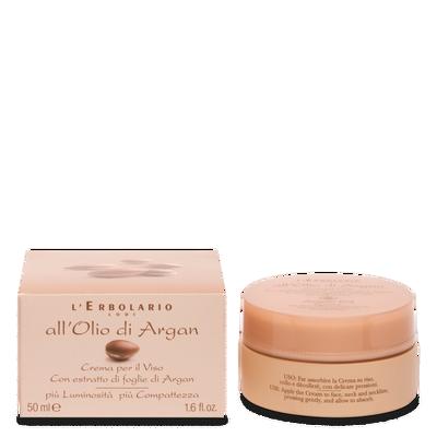 Crema per il viso con estratto di fogli di Argan 50 ml l'erbolario