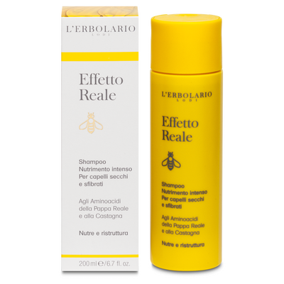 Effetto reale: shampoo nutrimento intenso l'Erbolario 200 ml